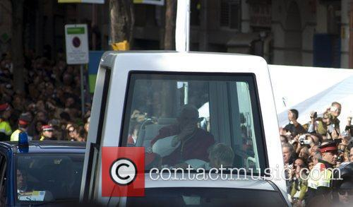 Pope Benedict Xvi and Cathedral 2