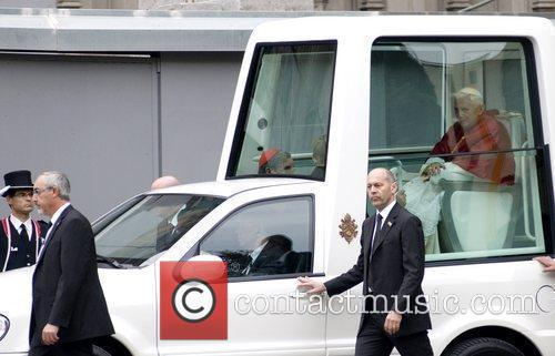 Pope Benedict Xvi and Cathedral 4