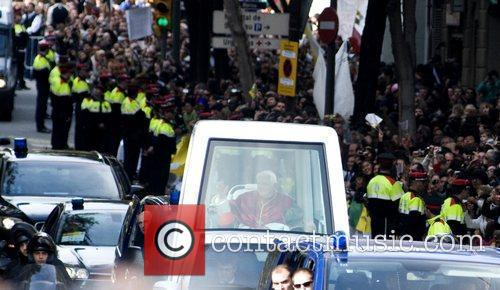 Pope Benedict Xvi and Cathedral 3