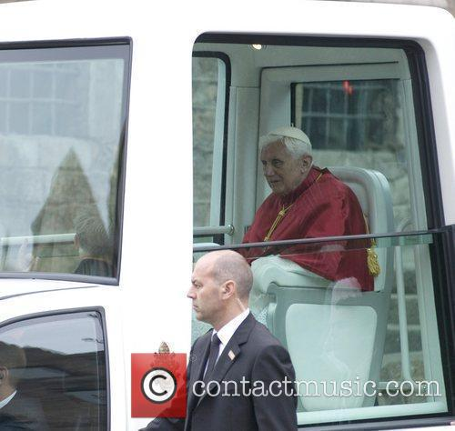 Pope Benedict Xvi and Cathedral 1