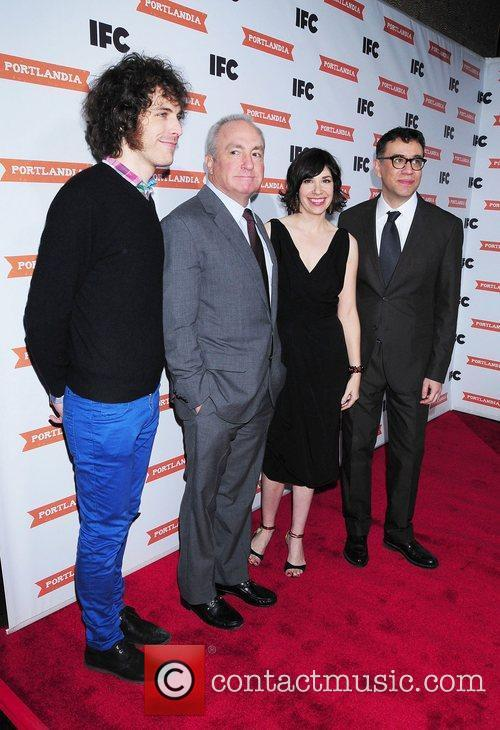 Lorne Michaels and Fred Armisen 3