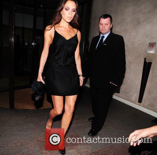 Victoria Beckham is seen arriving at Gordon Ramsay's...