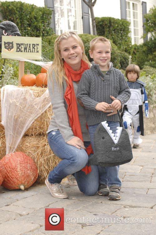 Celebrities at Pottery Barn Kids Halloween Carnival