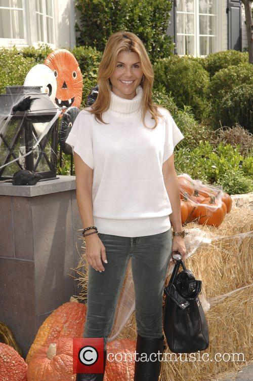 Lori Loughlin Celebrities at Pottery Barn Kids Halloween...