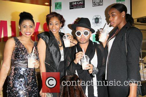 Guests Power 106 charity event benefiting Sickle Cell...