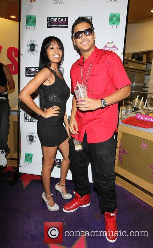 Jamila Hendricks and Quincy Power 106 charity event...