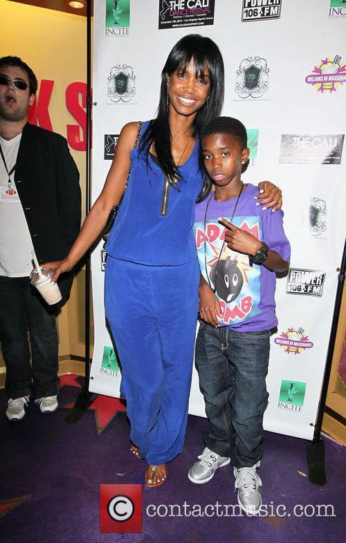 Kim Porter and Christian, P Diddy's son Power...