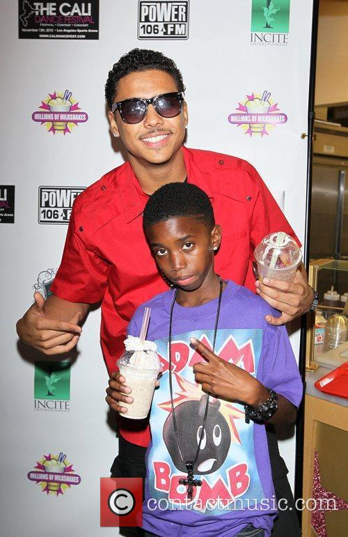 Quincy and Christian (P Diddy's sons) Power 106...