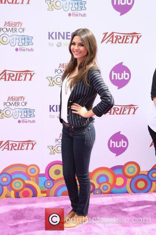 Victoria Justice Variety's 4th Annual Power Of Youth...