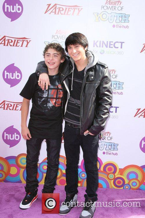 Ryan Ochoa and Mitchel Musso Variety's 4th Annual...