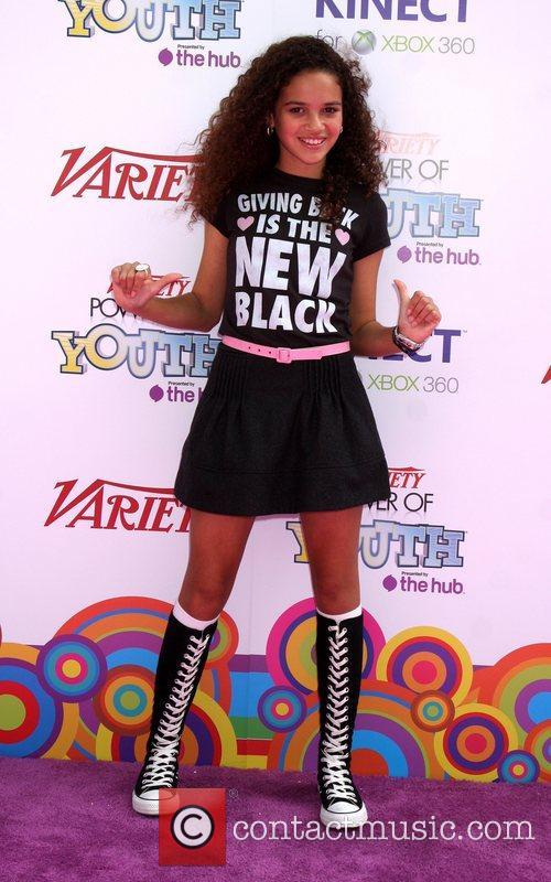 Madison Pettis Variety's 4th Annual Power Of Youth...