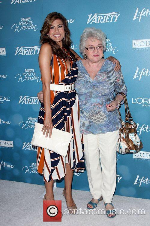 Eva Mendes and her mother Variety's 2nd Annual...