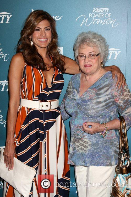 Eva Mendes & Mother ,  Variety's 2nd...