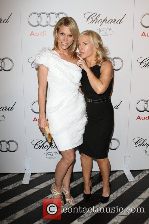Cheryl Hines and Rachael Harris 2