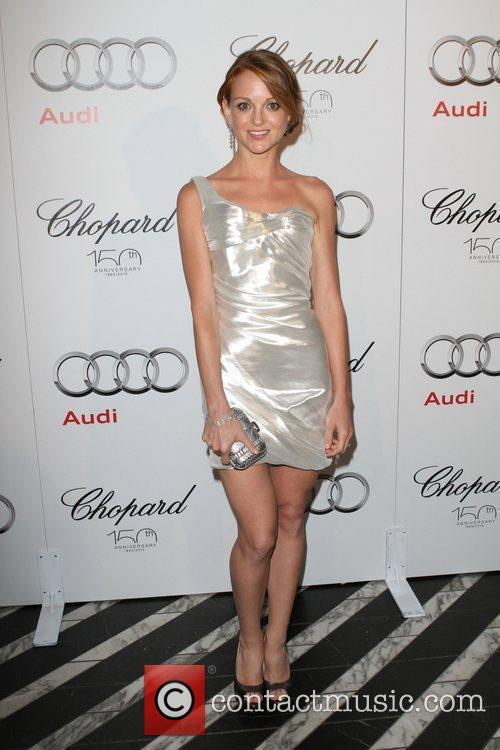 Jayma Mays Audi hosts a cocktail party to...