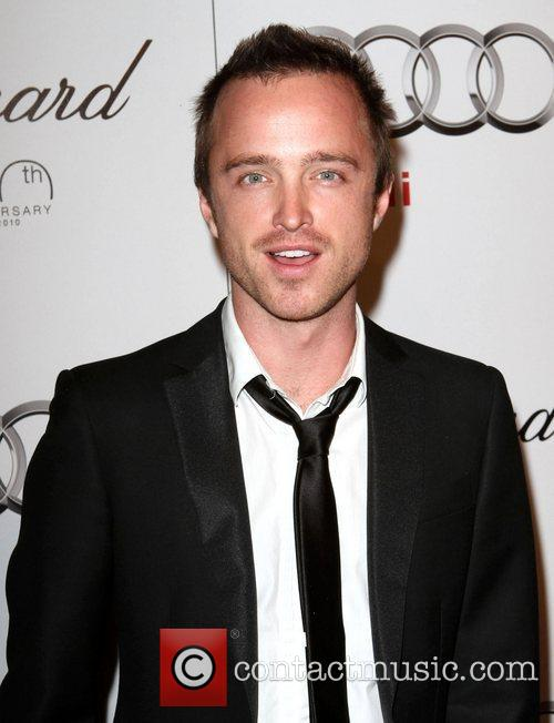 Aaron Paul Audi hosts a cocktail party to...