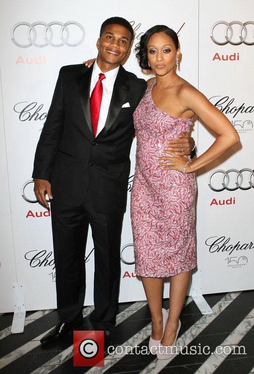 Cory Hardrict and wife Tia Mowry Audi hosts...