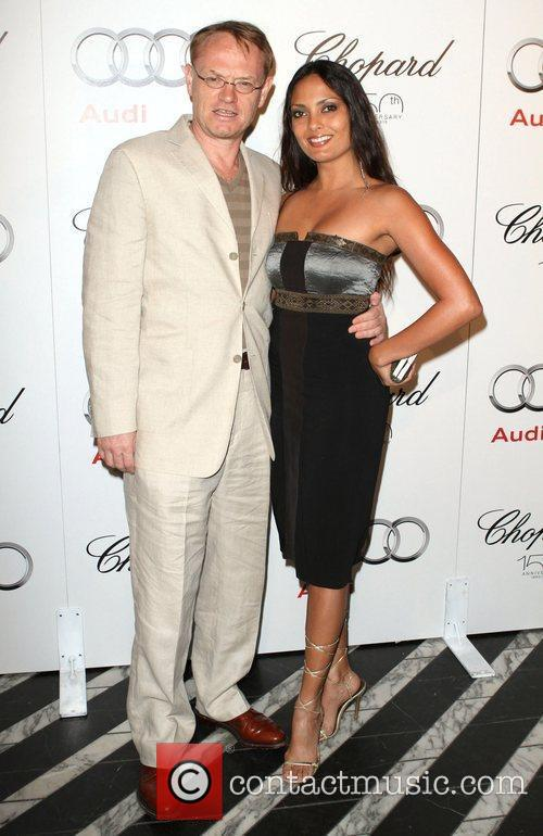 Jared Harris and Guest Audi hosts a cocktail...