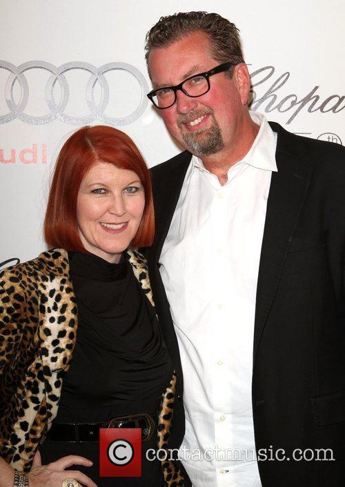 Kate Flannery and boyfriend, Chris Haston  Audi...