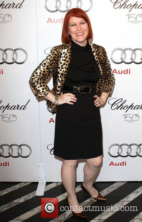 Kate Flannery Audi hosts a cocktail party to...