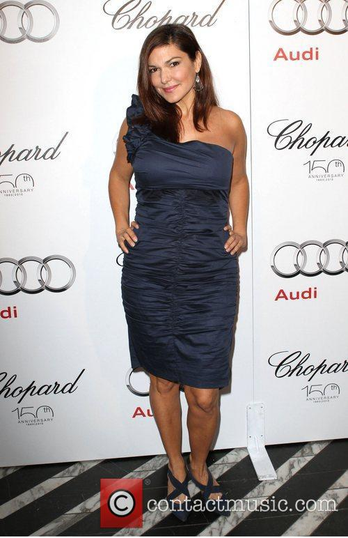 Laura Harring Audi hosts a cocktail party to...