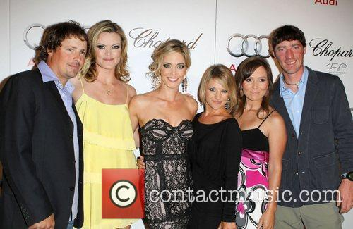 Missi Pyle,Christina Moore and Guests Audi hosts a...