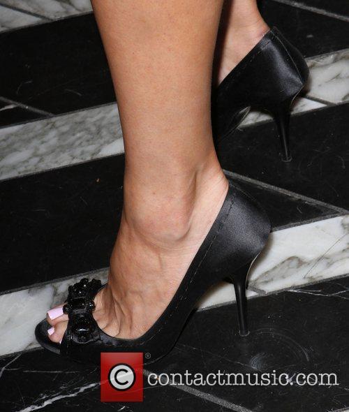 Missi Pyle shoes Audi hosts a cocktail party...