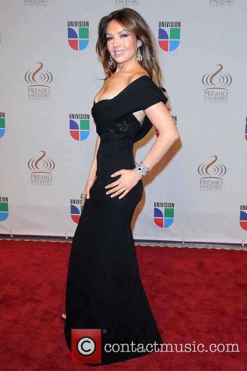 Thalia Univisions 2010 Premio Lo Nuestro a La...