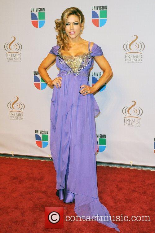Claudia Molina  Univisions 2010 Premio Lo Nuestro...