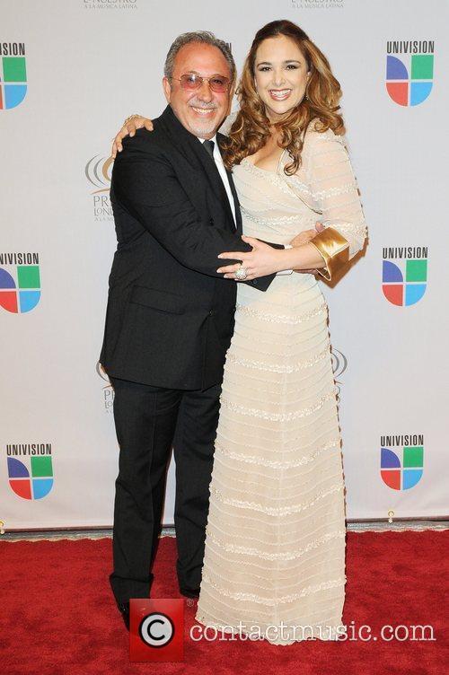 Emilio Estefan and guest Univisions 2010 Premio Lo...