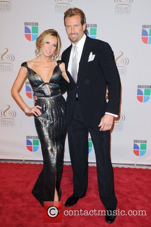 Gabriel Soto and guest Univisions 2010 Premio Lo...