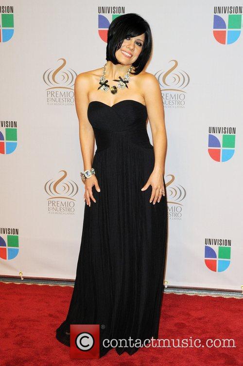 Luz Rios  Univisions 2010 Premio Lo Nuestro...
