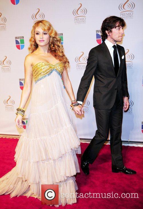 Paulina Rubio and her husband Nicolas Vallejo Najera...