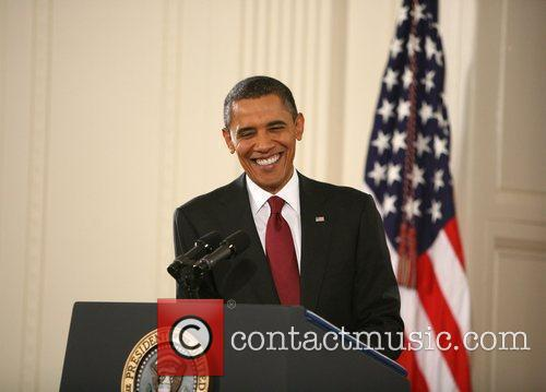 Barack Obama and White House 23