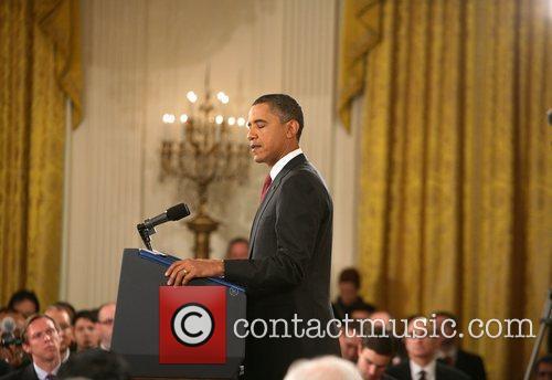 Barack Obama and White House 14
