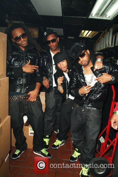 R&B group Pretty Ricky  party at Club...