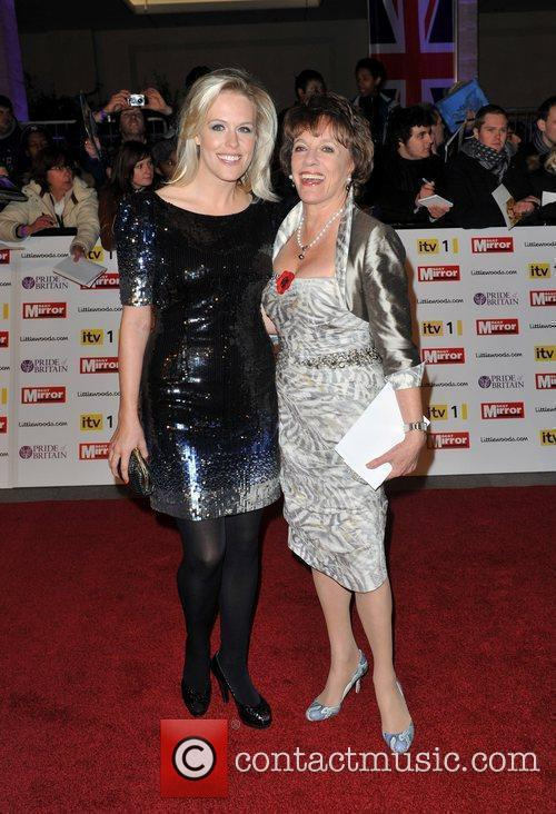 Esther Rantzen and guest Pride of Britain Awards...