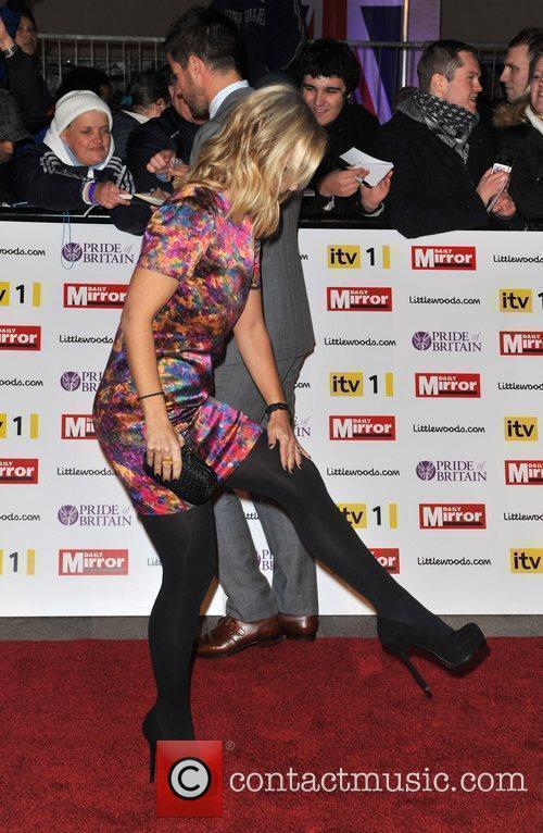 Louise Redknapp Pride of Britain Awards held at...