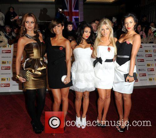 The Saturdays, Frankie Sandford, Mollie King, Rochelle Wiseman, Una Healy and Vanessa White 3