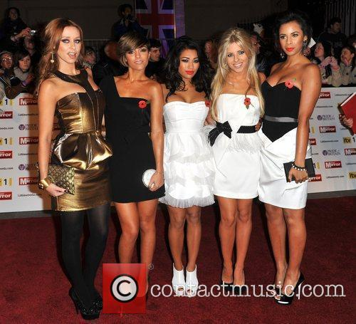 The Saturdays, Frankie Sandford, Mollie King, Rochelle Wiseman, Una Healy and Vanessa White 2