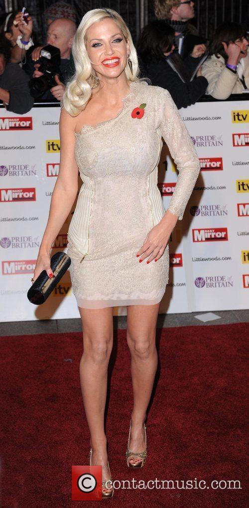 Sarah Harding at Pride Of Britain Awards at...