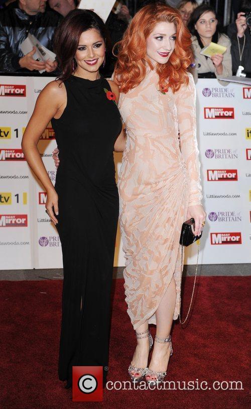 Cheryl Cole and Nicola Roberts 8