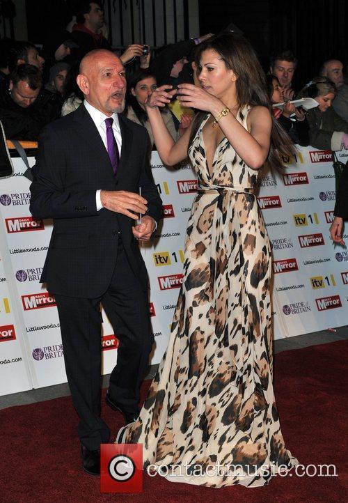 Sir Ben Kingsley and guest Pride of Britain...