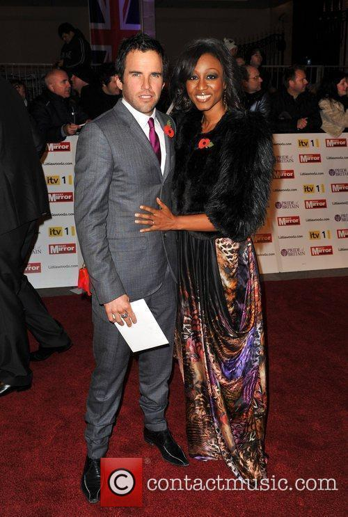 Beverley Knight and guest Pride of Britain Awards...