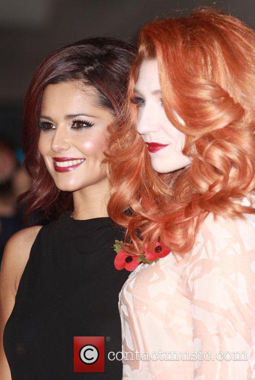 Cheryl Cole and Nicola Roberts 1