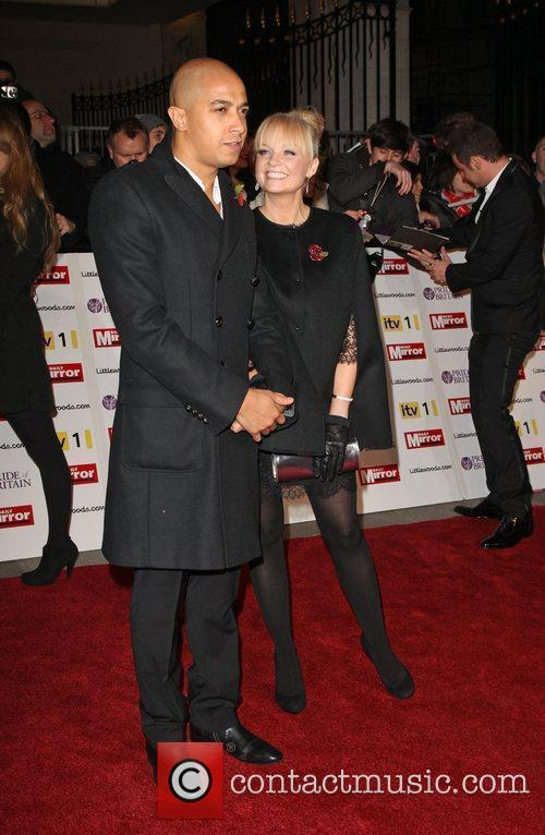 Jade Jones and Emma Bunton Britain Awards 2010...