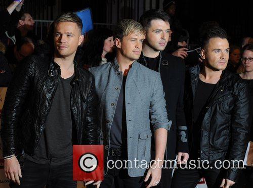 Westlife, Kian Egan, Nicky Byrne and Shane 2