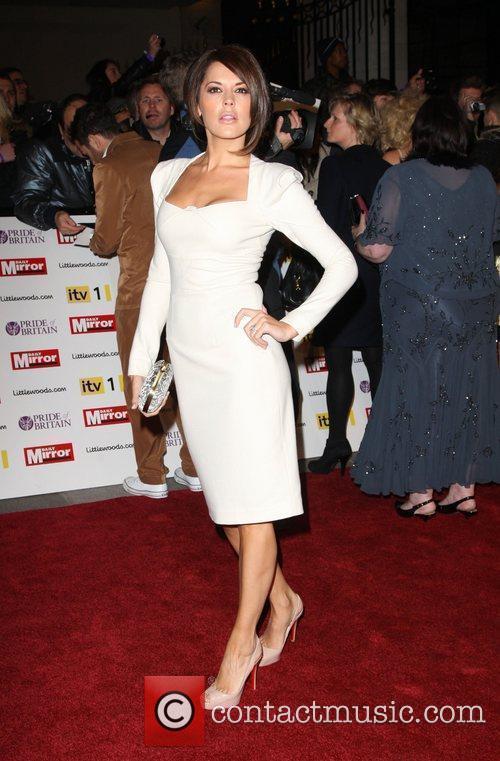 Danielle Lineker aka Danielle Bux Pride of Britain...