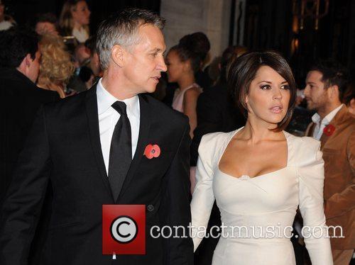 Gary and Danielle Lineker Pride of Britain Awards...
