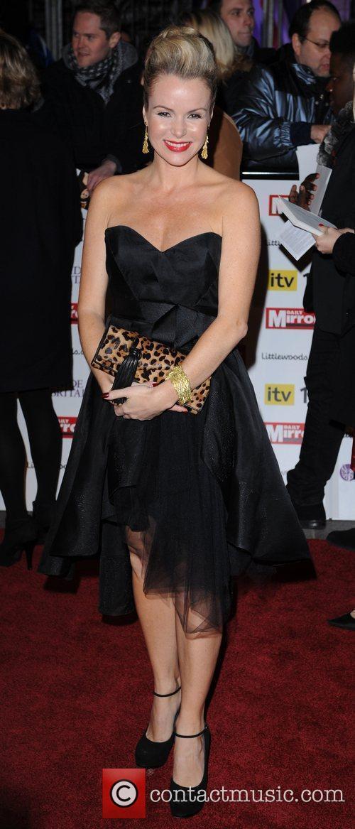 Amanda Holden at Pride Of Britain Awards at...